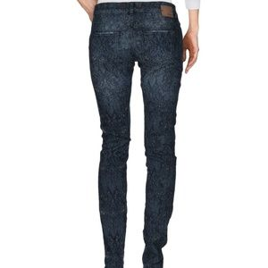 reputable site fcfa6 6e53d PINKO Jeans Blue Slim Super skinny Floral 25